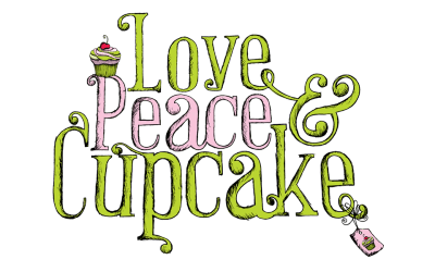 Love Peace and Cupcake