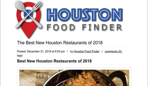 Best New Houston Restaurant of 2018