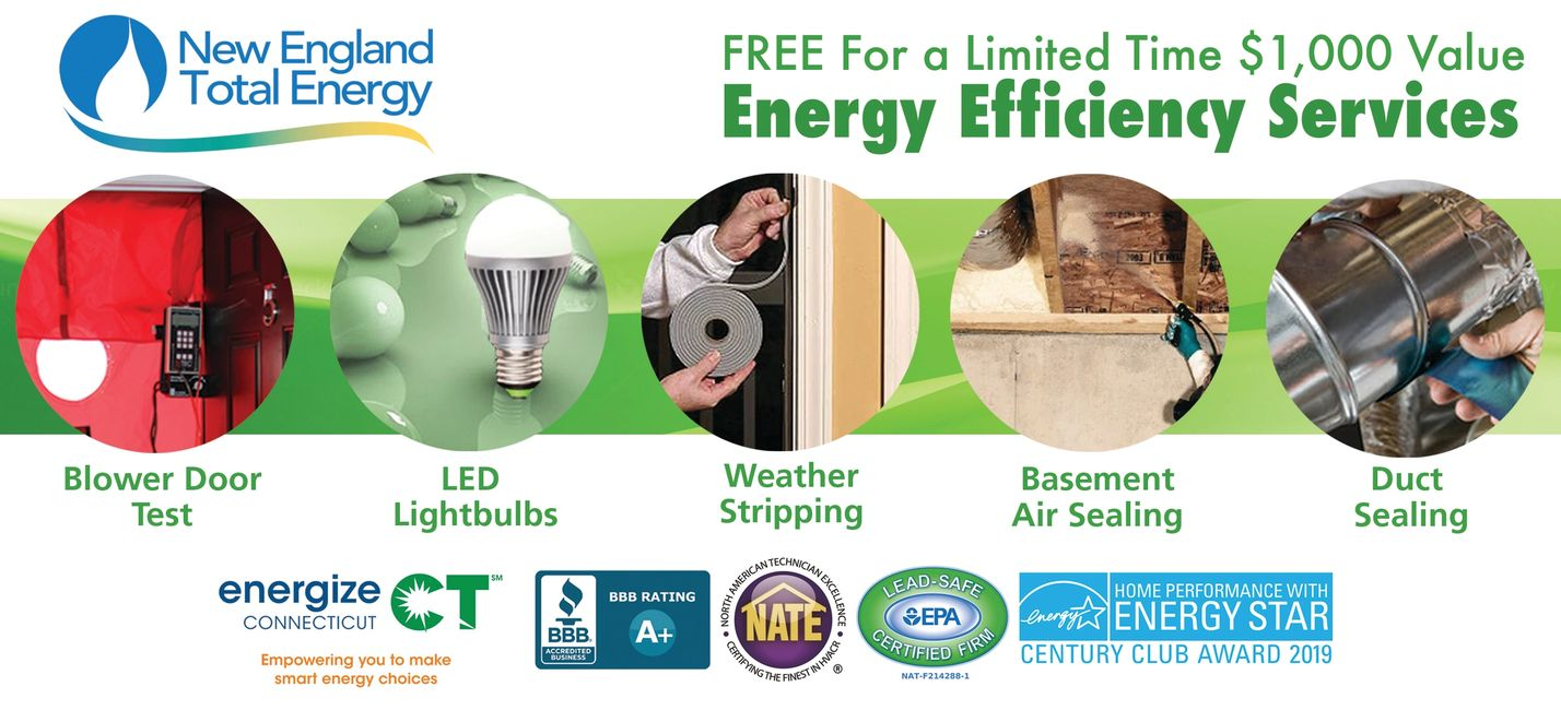 Free Energy Efficiency Services by Energize CT Program