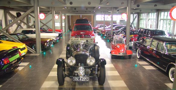 A purpose built  classic car garaging facility