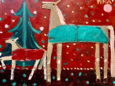 The Christmas Horse Arrives at the Equus Art and Film Festival