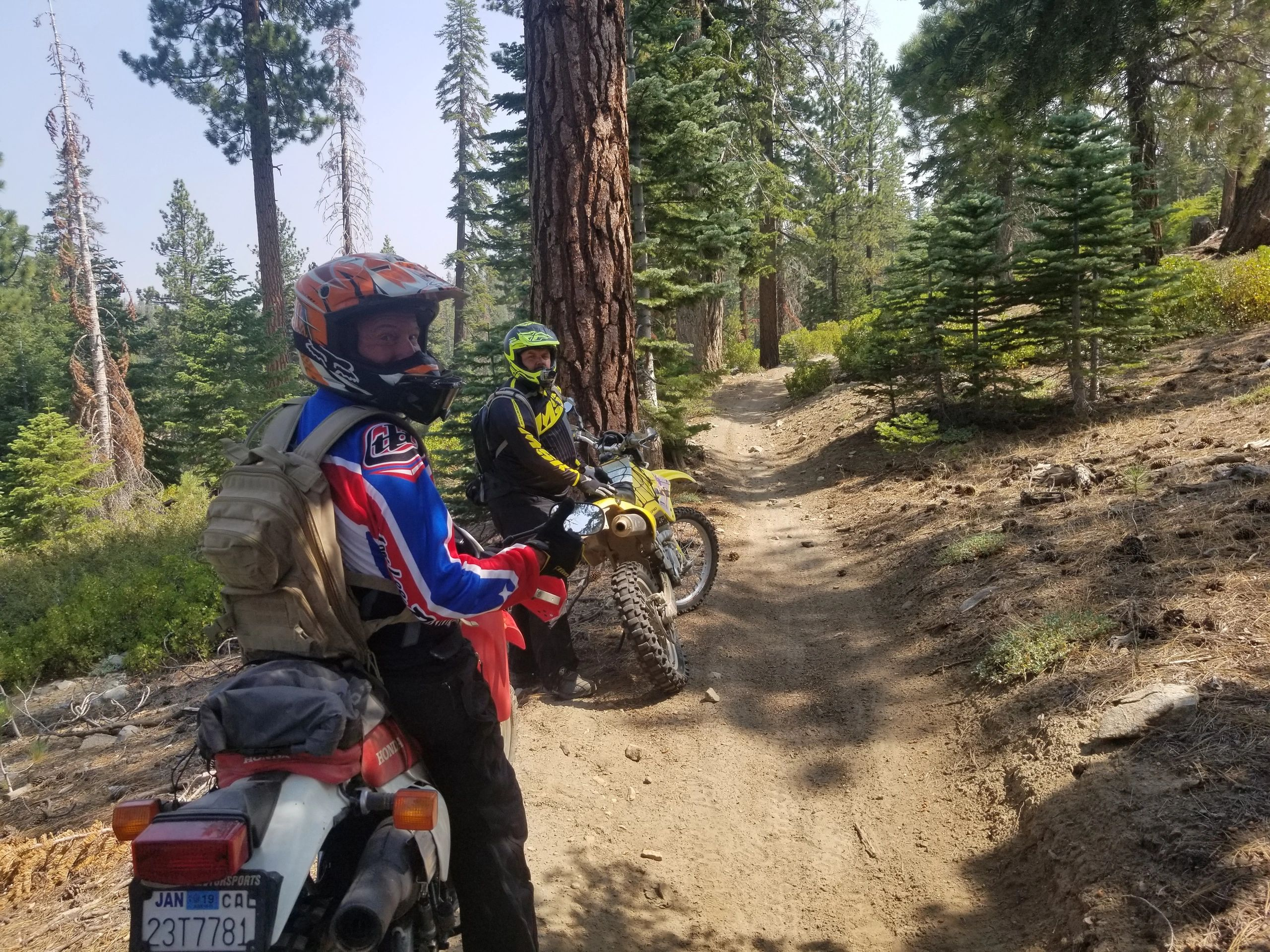 Lightweight Adventure riding in Kennedy Meadows