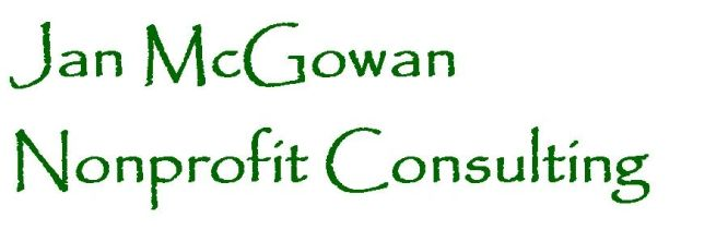 Jan McGowan Nonprofit Consulting