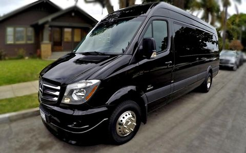 Mercedes Sprinter Limos in Fort Collins