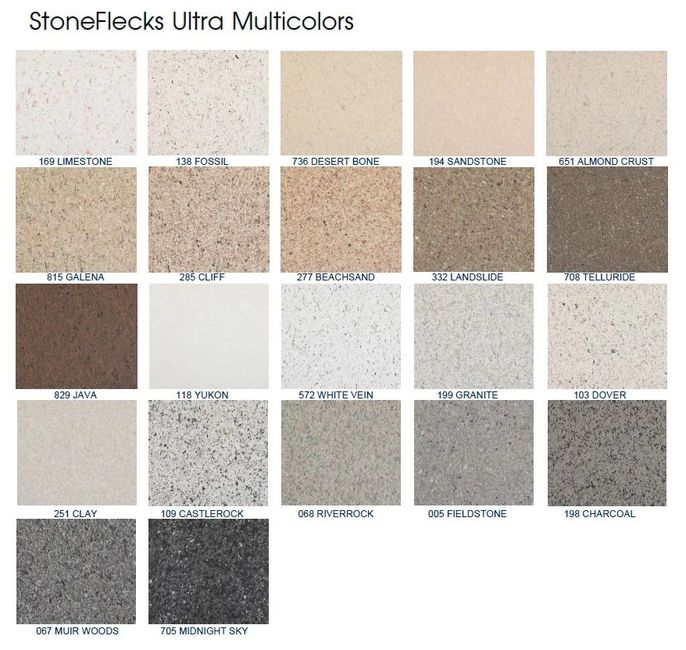 Stone Fleck Ultra Colors