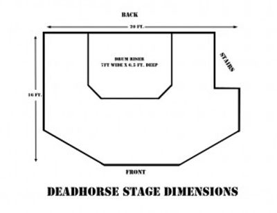 Deahorse Stage Dimensions