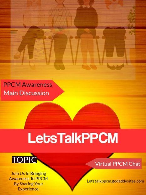 Getting awareness for PPCM is one thing, but sharing our personal stories and challenges is another.