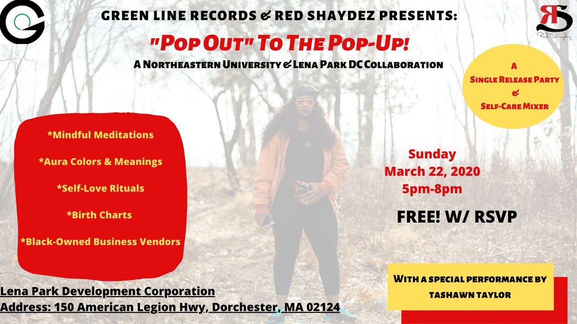 Northeastern University's Green Line Records & Boston's Own Red Shaydez