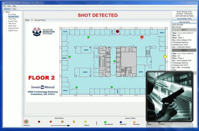Locate a shooter in your building immediately after a shot is fired. Contact CLS today!