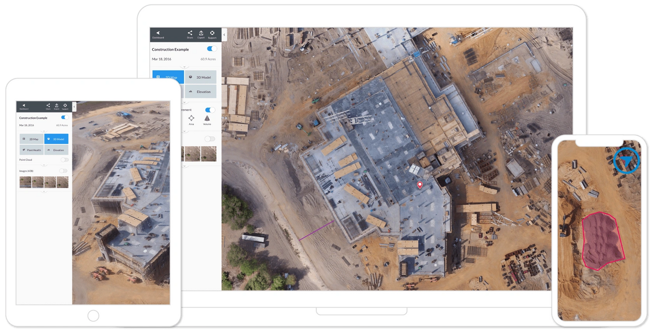 Drone mapping, construction progress, aerial pictures, mapping, drones in construction, cloud based.