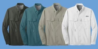 custom eddie bauer shirts
