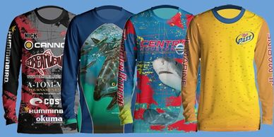 Custom Tournament fishing shirts