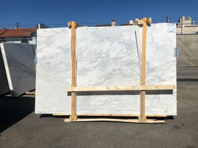 Antolini Calacatta Super Marble Slabs at Royal Stone & Tile in Los Angeles