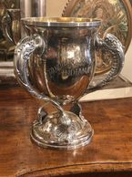 Antique SIlver Plate Trophy