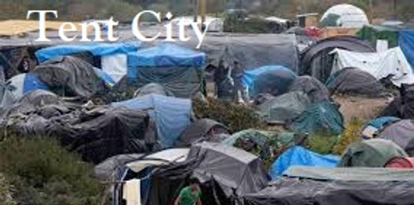 Tent City, a forthcoming novel by Amy Bernstein