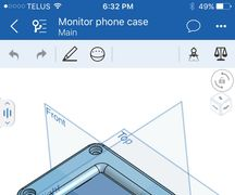 Agile Product Design, Onshape on iPhone, Mobile CAD