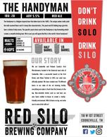 Red Silo The Handyman Beer