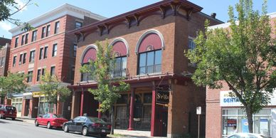 This building on Lafayette Street was home to the Klondike Club, a French-Canadian social club