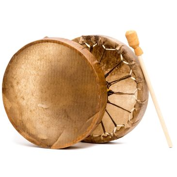 The beat of the drums represent the unwavering pulse of Mother Earth. Making your personal framed dr