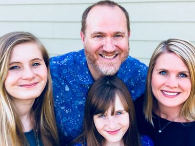 Pastor Shannon, Heather, Clara, and Katie