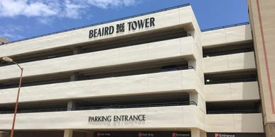 Beaird Tower Covered Parking Garage