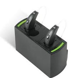 Rechargable Bluetooth Hearing Aids compatible with the iphone and android