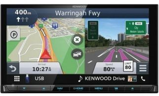 kenwood double din navigation radio