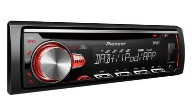 pioneer single din radio with dab