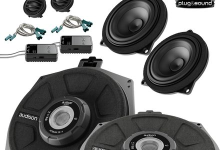 audison prima BMW speaker package