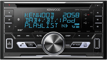 kenwood dab double din radio