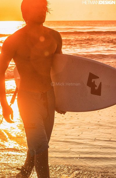 Copyright Mick Hetman, surfer