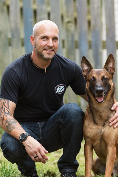 Brian Gagye, Dog Psychologist and Trainer.