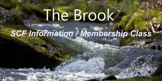 "On Sunday, December 2nd, SCF will be hosting the September edition of ""The Brook,"" our one-time info"