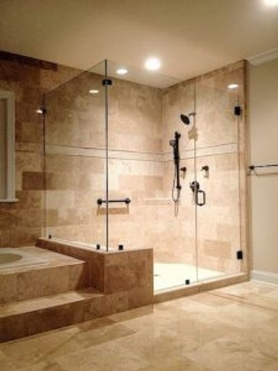 Custom Shower Enclosures.