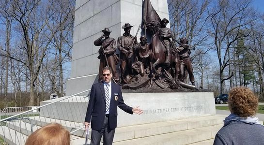 Gettysburg Licensed Guide Timmothy Bassett, member Association of Licensed Battlefield Guides