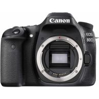 Canon 80D body only. available on Amazon