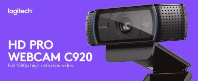 Logitech c920 Pro Hd Webcam Available on Amazon