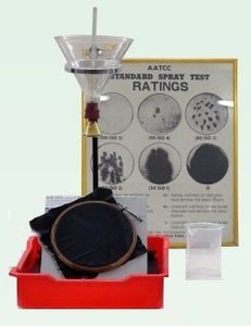 Water Repellency Tester, Spray Tester, Rain Tester, Repellent Tester, Water Proof Tester of fabric