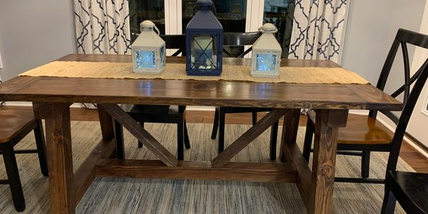 Cool Into The Woods Custom Farmhouse Tables Home Pabps2019 Chair Design Images Pabps2019Com