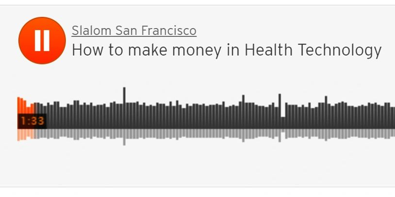 podcast Anne DeGheest interview how to make money in health technologies