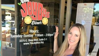 Chopped winner and founder of the Joy Bus Jennifer Caraway