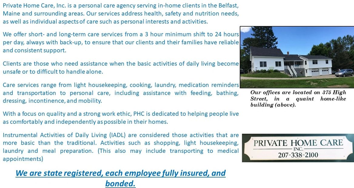 About Us | Private Home Care, Inc