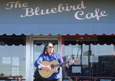 Uncle Doug at the World Famous Bluebird Cafe, Nashville TN