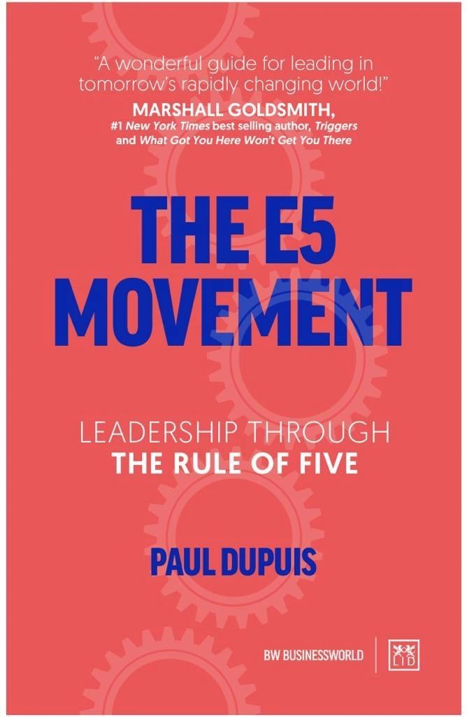 COMING SOON!  A fresh, innovative approach to game-changing leadership from Paul Dupuis.