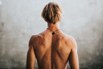 Mens neck and back waxing