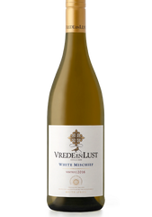 Vrede and Lust White Mischiefis a 6-cultivar white blend.An abundance of tropical fruit and floral