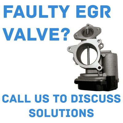 Get in touch to discuss Faulty EGR solutions, P0401 Fix, Limp Mode Fix