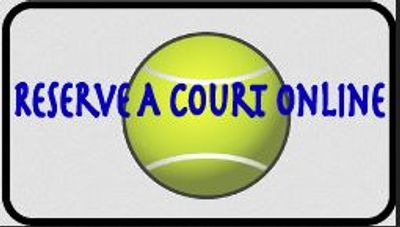 Bayside Tennis Club court reservation website for member
