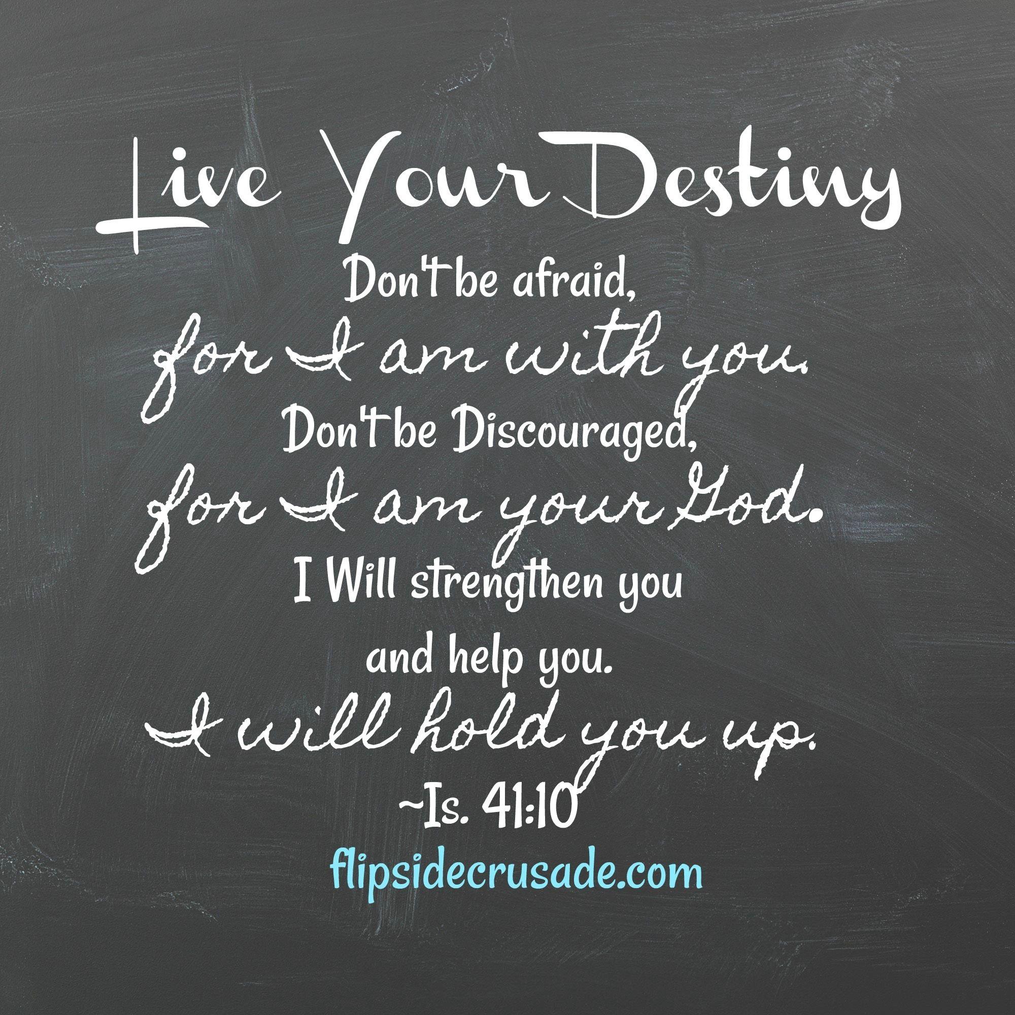 Live Your Destiny