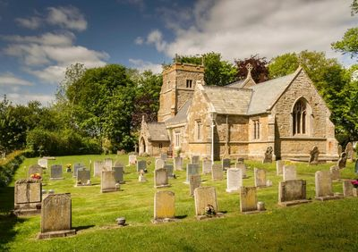A view of the Churchyard